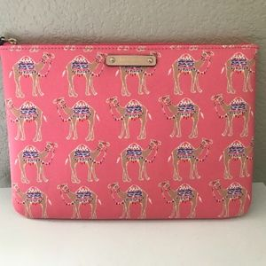 KATE SPADE Gia Cosmetic Bag Clutch Spice Things Up